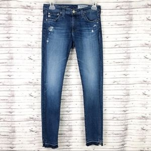 AG Legging Jeans Released Hem Super Skinny Ankle